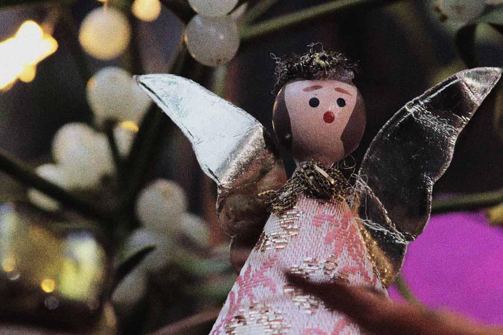 Weihnachtsgeschichte Engel