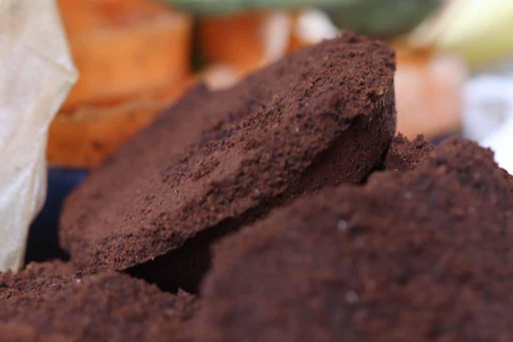 Kaffeesatz als Kompost